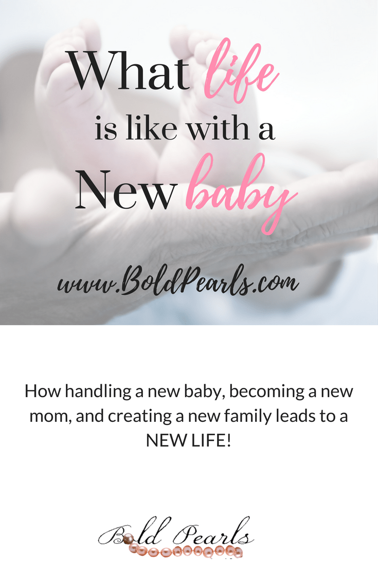 What its like to be a new mom with a new baby!