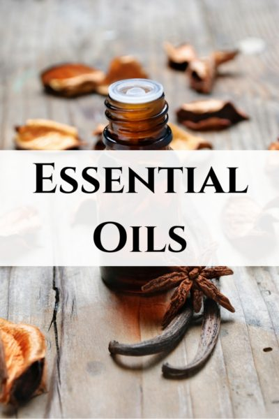 I LOVE ESSENTIAL OILS!