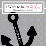 I Want To Be An Anchor