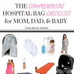 Comprehensive Hospital Bag Checklist for Mom, Dad, and Baby | Labor and Delivery Prep | Bold Pearls