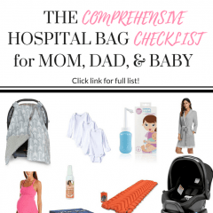 Comprehensive Hospital Bag Checklist