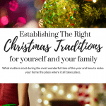 Establishing Christmas Traditions