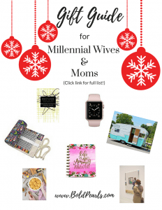 The perfect gift guide for millennial women | Bold Pearls