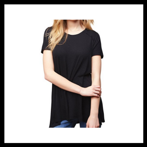 Nursing Top T - Jessica Simpson, Motherhood Maternity| boldpearls.com|affiliate
