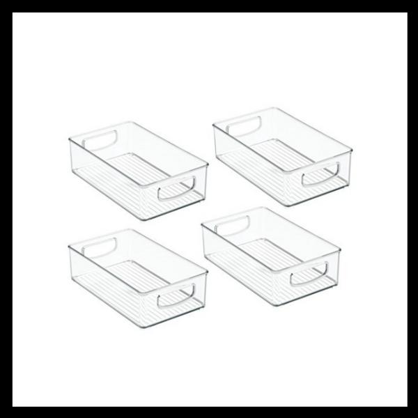Acrylic Storage Bins| bolpearls.com | affiliate