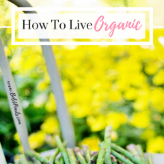 How To Live Organic