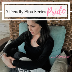 Sin of Pride – Seven Deadly Sin Series