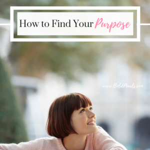 What to do to find your purpose in life. Easy steps and insight to navigate discovering how to find your purpose. boldpearls.com