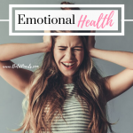 Emotional Health is a KEY part of the tri-fecta that helps are life work! Dive in to the steps that will give your life Emotional Health! boldpearls.com