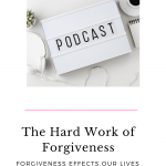 Forgiveness is hard work and important to your mental health. Tune in to this episode of The Thought Vault Podcast to learn HOW and WHY we need to practice forgiveness to have a healthy life.
