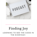 Life can sometimes get the best of us, making it hard to find joy in the little things. The key to remaining happy is finding joy in the difficult situations as well as in the ordinary. Finding joy is possible no matter what is happening.