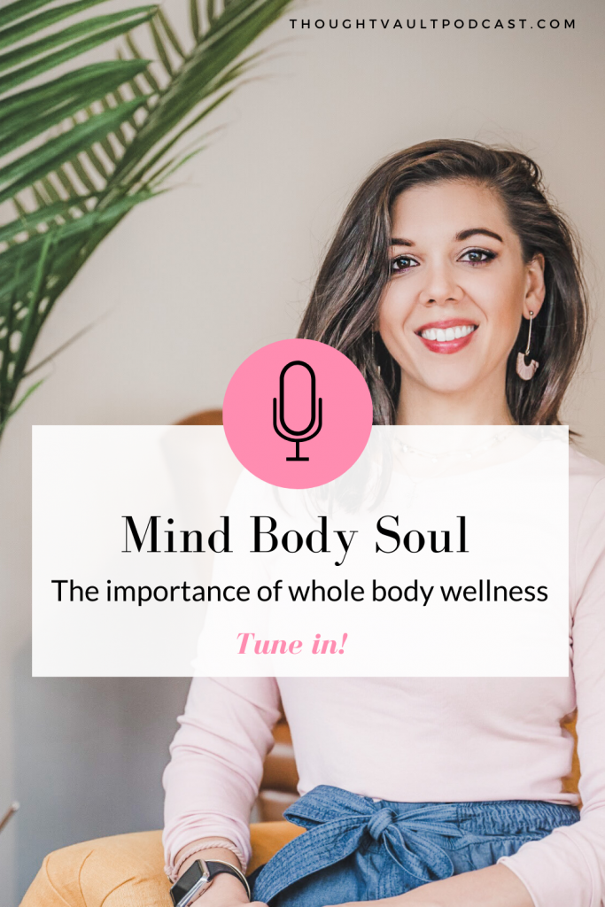 Overall wellness hinges on these three areas of life. Tune in to this episode of The Thought Vault Podcast!