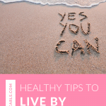 These tips will help you live a healthy live in all areas daily! Watch this quick video!