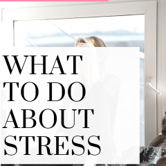 How to easily deal with stress! Watch these tips!
