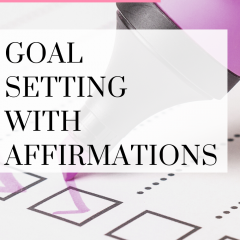 What we think about changes our actions, learning how to use affirmations can be very helpful for reaching goals. Watch this quick video!