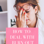 Burn out is so draining! Watch how to get through it!