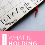 What is holding you back? Don't let your mind hold you back any longer. Watch this video for helpful tips!