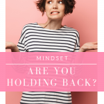 Are you holding back in your life? Watch this video for some tips on how to let go and move on to happiness and success!