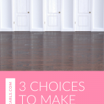 Eager for a better life? Here are 3 choices to make for a better life right now. Watch this quick video!