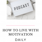 Motivation can be illusive sometimes. Did you know that you can learn how to sustain motivation? Listen to this episode of The Thought Vault Podcast to find out the secret!