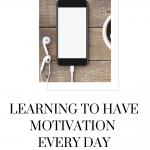 Stay motivated every day, even in the face of adversity. Listen to this episode of The Thought Vault to learn how motivation is triggered and maintained!