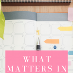 What matters in life? It really is about keeping it simple!