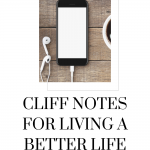 Listen to this episode of The thought Vault Podcast for the cliff notes to living a better life!