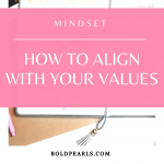 Align with your values and live life intentionally well. Watch this quick clip to learn a strategy.