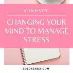 Changing your mind to manage your stress is NOT complicated. We have so much power in our brains! Watch this quick video!