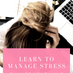 Learn to manage stress and change your mind to think healthier and imact your daily life positively. Watch this quick video!