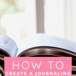 Learn how to build a journaling routine and improve your mindset. No, you don't have to use journal prompts, but you can. Watch this quick video!
