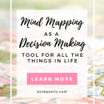 Mind mapping is a great tool for decision making and gaining clarity. Watch this quick video on how to use it!