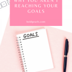 Do you have a hard time reaching your goals? There may be three things you are doing that keep you from reaching them. Watch this!