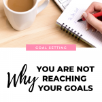 Why you aren't reaching your goals, and what do change in order to get them!