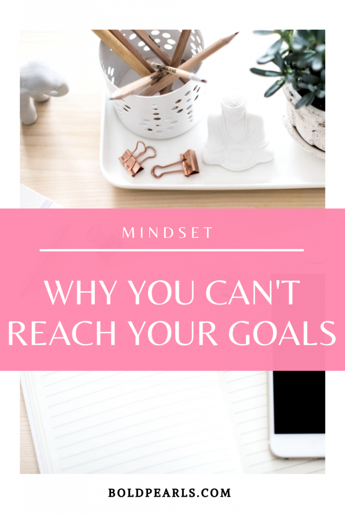 Goal setting means that you are working towards a goal, but you may be having a hard time reaching them. Watch this to learn why!