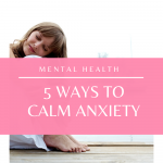 This video covers 5 ways to naturally manage anxiety on a daily basis!