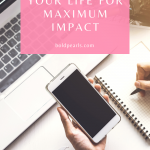 Learn to simplify your day in order to maximize your impact in daily life.
