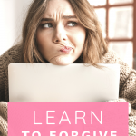 Learn to forgive yourself in order to live more freely and move away from the past. Watch this quick video training to learn how to forgive yourself!