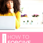 Learn how to forgive yourself in order to live in the present, and live free from the bondage of past choices in order to live well now. Watch this quick video training to learn how to forgive.