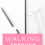 We must learn how to walk through difficult times in a healthy manner, listen to this episode of The Thought Vault Podcast\