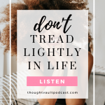 Tune in to this episode of The Thought Vault Podcast to talk about being stuck.