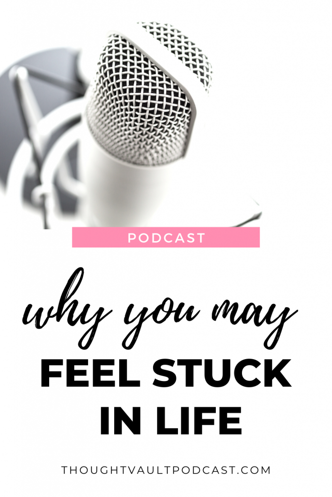 Don't be complacent in life and live stuck. Tune in to this episode of The Thought Vault!