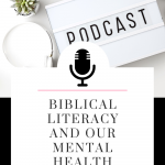 Today, Biblical Literacy is IMPORTANT to our relationship with Christ, and learning our Bible effectively. Listen to this episode of The Thought Vault Podcast! #podcast #christian #bible