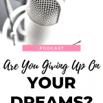 Have your dreams fallen away? Do you believe that you can't have the dreams God has given you? Listen to this episode of The Thought Vault Podcast!