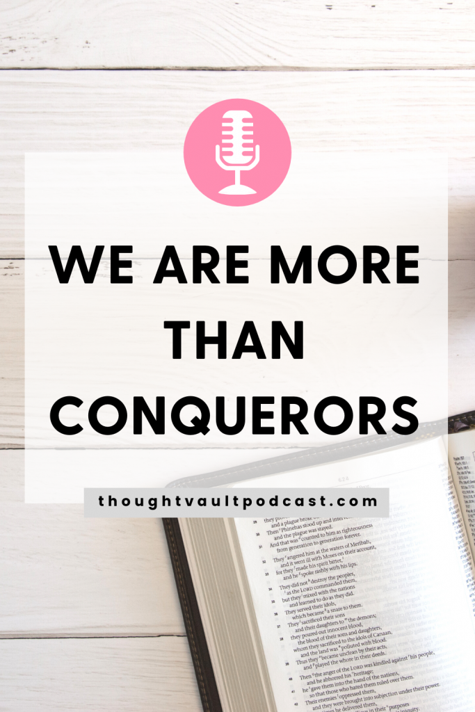 We are strong and courageous. We are called to be.