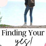 Finding Your Yes with Christine Wagoner. Tune in to this episode of The Thought Vault Podcast!